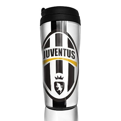 Amazon.com: Juventus taza de café aislada taza de viaje ...