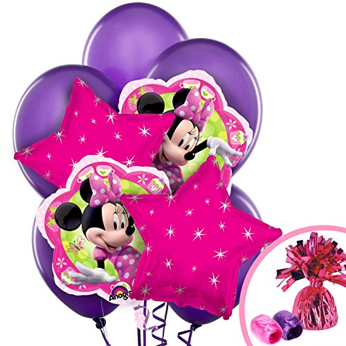 Costume Supercenter BB102084 Minnie Mouse Party Balloon Kit