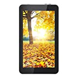 AOSON 7 Inch kids Tablet, Android 5.1 Lollipop OS A33 Quad-core CPU, IPS 1024×600 Touchscreen, 1GB RAM 8GB Storage, 2400mAh,Dual Camera, Bluetooth, Wi-Fi Tablet PC M751 White rear