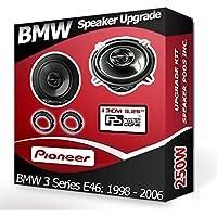 Pioneer Haut-parleurs avec adaptateurs pour portières Avant BMW 3 Series E46 210W