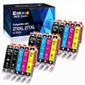 E-Z Ink (TM) Compatible Ink Cartridge Replacement for Canon PGI-270XL CLI-271XL PGI 270 XL CLI 271 XL to use with PIXMA MG6820 MG5720 (3 Large Black,3 Small Black,3 Cyan,3 Magenta,3 Yellow) 15 Pack