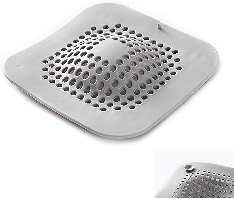 Silicone Sink Drain Filter Bathtub Hair Catcher Stopper Filter Strainer Bathroom