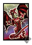 Max Protection 50 Count Standard Card Sleeves Robo Fury (Red)