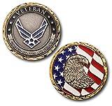 USAF U.S. Air Force Veteran Challenge Coin