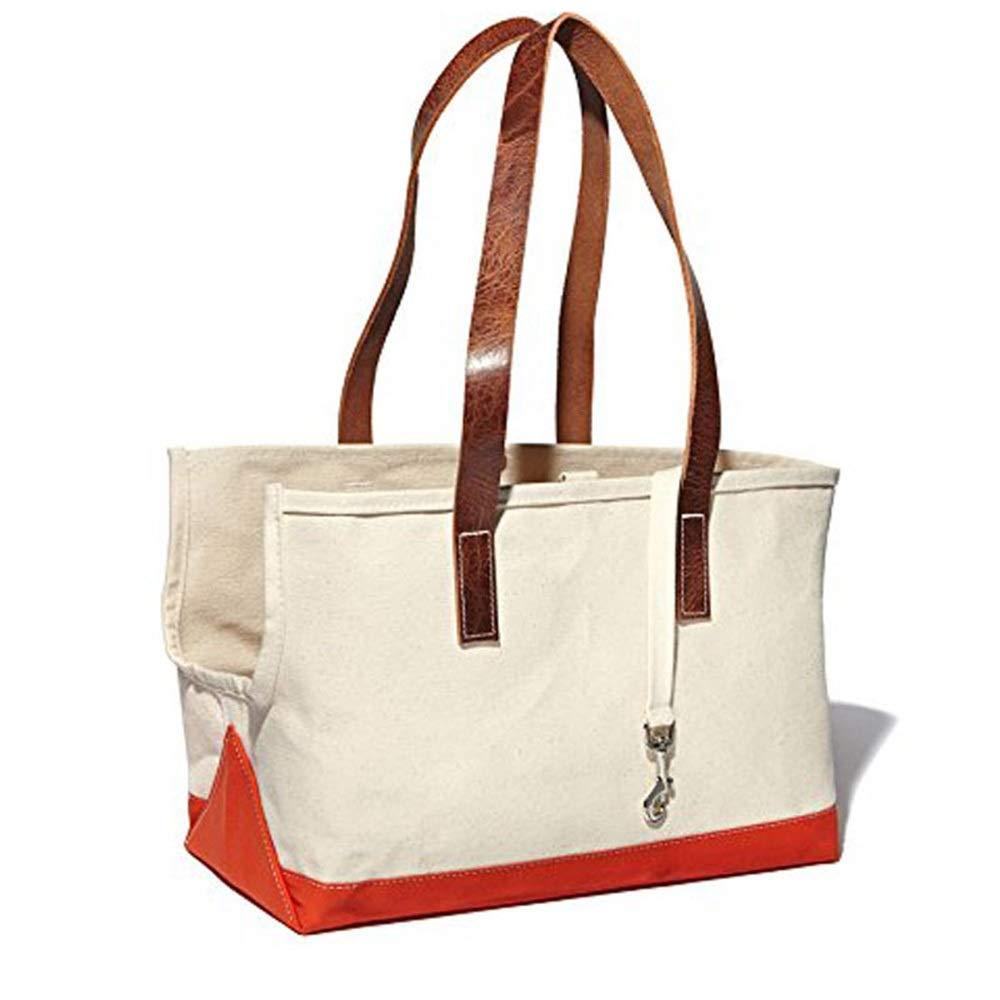 As-picture 30.515.221.6cm As-picture 30.515.221.6cm HYUE Pet Bag Pet Shoulder Bag Canvas Dog Bag Cat Bag Portable Travel pet Backpack (color, Size   30.5  15.2  21.6cm)