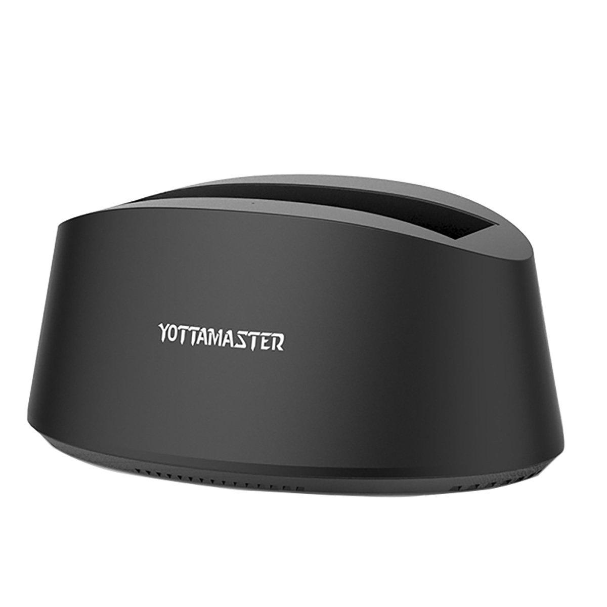 [ 10TB y UASP ] Yottamaster Base de Conexió n Docking Station USB 3.0 para SATA HDD/SSD Windows/Mac/Linux Yottamaster Technology Co. Ltd. Yottamaster K100U3-BK-DE