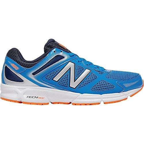 New Balance - M460LS1 - M460LS1 - Farbe: Blau-Orangefarbig-Schwarz - Größe: 45.5