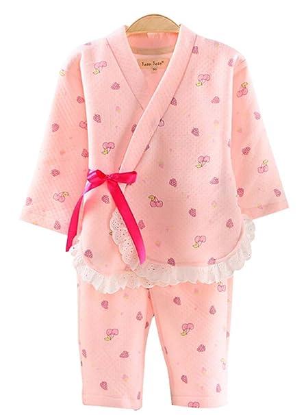 4aa2fc4b65 Amazon.com  PANDA SUPERSTORE Children  s Pajamas Suit Kimono Pajamas ...