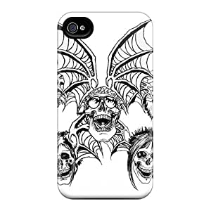 Forever Collectibles Avenged Sevenfold Hard Snap-on Iphone 4/4s Cases