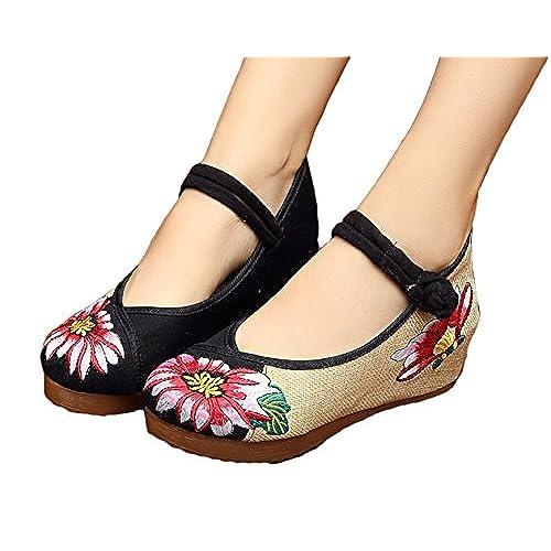 Lotus plus size 4 1/2 shoes navy
