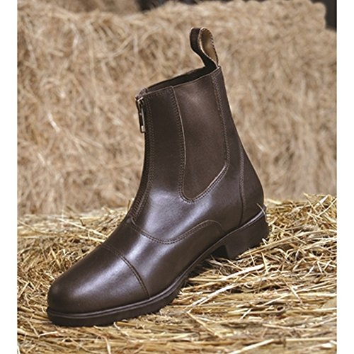 Mark Todd Adults Toddy Zip Jodhpur Boots Nero