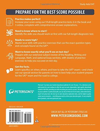 SAT Prep Guide 2018 (Peterson's Sat Prep Guide)