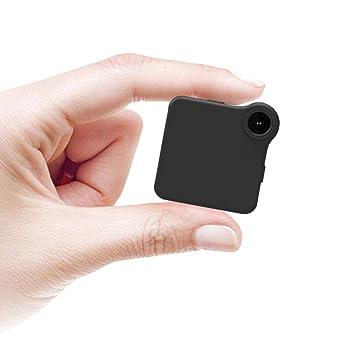 Teepao Mini Cámara WiFi HD 720p Portátil, Grabador de Sonido Vídeo Micro DVR Acción de Detección de Movimiento Cámara Flexible para Deportes al Aire Libre, ...