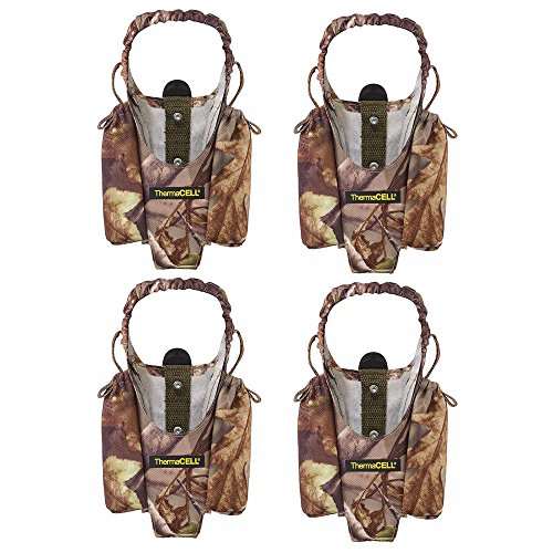 Realtree Thermacell Mosquito Repellent (Thermacell Realtree Xtra Camo Holsters for Mosquito Repellent Devices, 4-Pack (MR-HTJ))