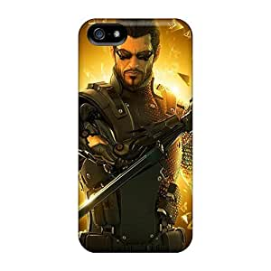 Anti-scratch And Shatterproof Deus Ex Human Revolution 7887 Phone Case For Iphone 5/5s/ High Quality Tpu Case