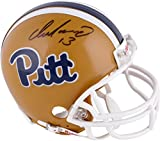 Dan Marino University of Pittsburgh Panthers Autographed Mini Helmet - Fanatics Authentic Certified - Autographed College Mini Helmets