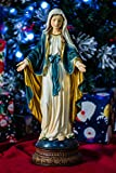 Hi-Line Gift Ltd Mary Standing with Open Arms Figurine, 24″ Tall Review