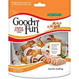Limited Time Offer on Good 'n' Fun Triple Flavor Mini Bones, 18 Count.