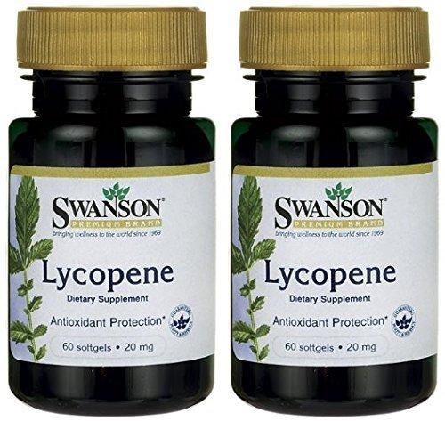 Swanson Premium Lycopene Bottles Softgels