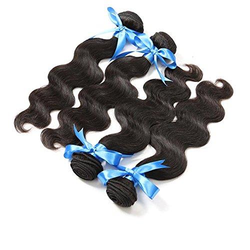 Klemmer Lover® Unprocessed Peruvian Virgin Hair Body Wave 8-30 Inch One Pcs 50g/pc 6A Unprocessed Virgin Peruvian Body Wave Hair,high Quailty Hair Products Cheap Human Hair Extension Human Hair Weave Bundles (14 inch)