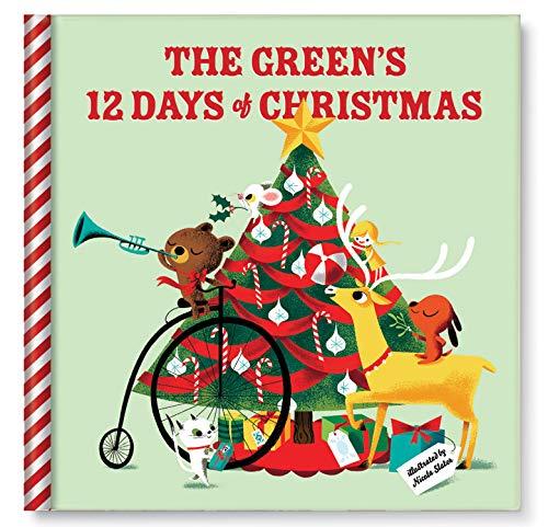 Personalized 12 Days of Christmas Custom Name Keepsake Storybook for Children Toddler Boys Girls, Family Christmas Xmas Traditions