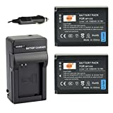 samsung nx1000 accessories - DSTE® 2x BP-1030 Battery + DC124 Travel and Car Charger Adapter for Samsung NX200 NX210 NX300 NX-300M NX1000 NX1100 NX2000 Camera as BP-1130
