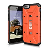 UAG iPhone 6 / iPhone 6s [4.7-inch screen] Feather-Light Composite [RUST] Military Drop Tested Phone Case
