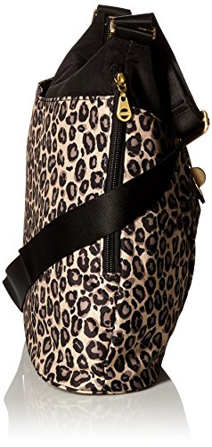 with Leopard Helsinki Hardware Bag Gold Baggalini XwpqE4Uq