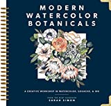 Books : Modern Watercolor Botanicals: A Creative Workshop in Watercolor, Gouache, & Ink
