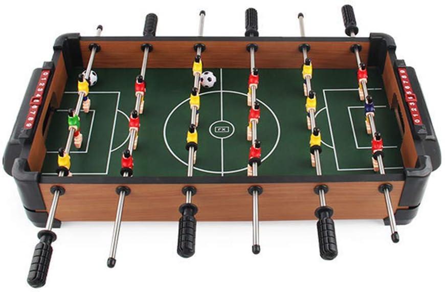 CBA BING Mesa de futbolín Comando Tabla Competencia de Madera portátil Mini Juego de fútbol para niños Los niños Sala de Juegos Juguetes: Amazon.es: Deportes y aire libre