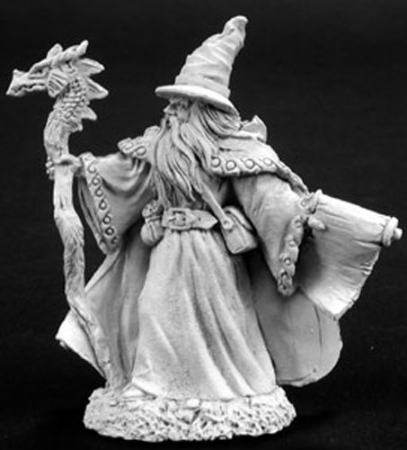 (Reaper Miniatures 2771 Lorus Hightower, Wizard)