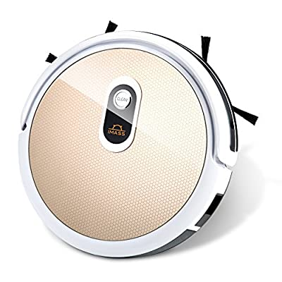 Robot Vacuum Cleaner and Mop IMASS A3-WGD Robot Cleaner with Wi-Fi Connectivity App Control Auto Charge Home Cleaning for Pet Hair, Dirt, Stains, Carpet, Hardwood and Tile Floor