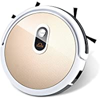 Robot Vacuum Cleaner and Mop IMASS A3-WGD Robot Cleaner with Wi-Fi Connectivity App Control Auto Charge Home Cleaning for Pet Hair, Dirt, Stains, Carpet, Hardwood and Tile Floor (Gold-01)