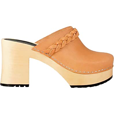 Buy New Arrival Shoes Women LAILA Clog Mules by Swedish Hasbeens Tan