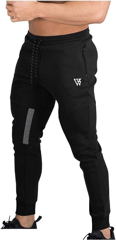 Brokig Pantalones De Chandal De Gimnasio Para Hombre Joggers Chandal Vertex Para Jogging Pantalones Para Correr Con Bolsillos Amazon Es Ropa Y Accesorios
