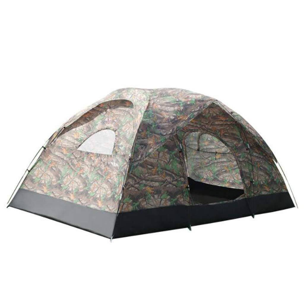 Unbekannt 380  220  180 cm Zelt Im Freien Zelt 8-10 Personen Großen Raum Manuelle Set Doppelzelt Wasserdicht Sonnenschutz Zelt