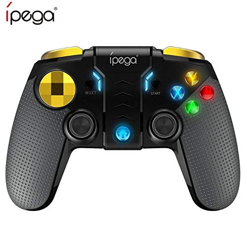 Blue-Ocean-11 - Ipega PG-9118 Wireless Game Console Bluetooth Gamepad Controller Mobile Trigger Joystick for Android IOS