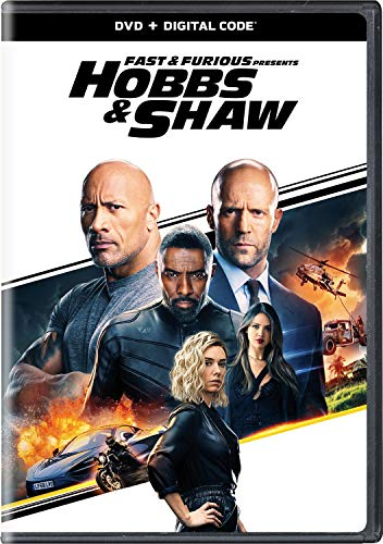 Fast & Furious Presents: Hobbs & Shaw (Newest Movies On Dvd)