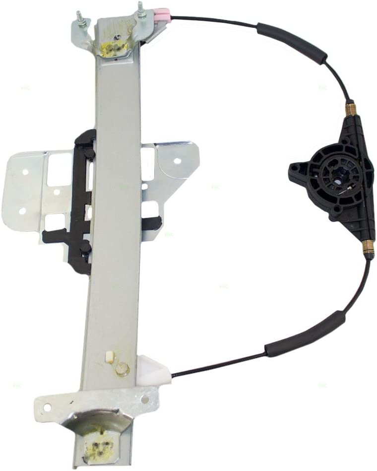 Drivers Rear Power Window Lift Regulator Replacement for 1995-1997 Town Car F5VY5427009A