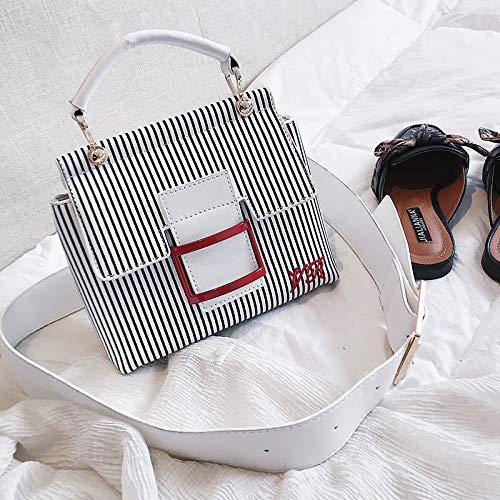 selvaggio Messenger rosso bag WSLMHH marea portatile tracolla a femminile fata moda personalità Borsa a tracolla borsa nero qqSntZx7
