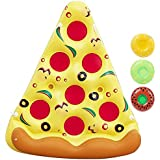 Giant Inflatable Pizza Pool Float Raft Outdoor Swimming Pool Inflatable Float .Fun Pool Floaties, Swim Party Toy, Summer Pool