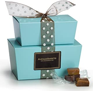 product image for AvenueSweets - Handcrafted Individually Wrapped Soft Caramels - Tower 1.5 lbs - Customize Your Flavors