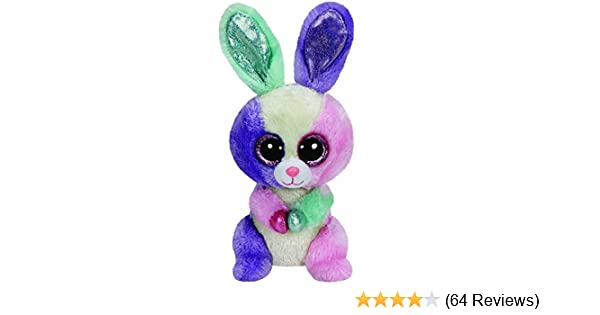 Amazon.com  Ty Beanie Boos Bloom - Multicolor Bunny  Toys   Games 4aceeeb4347c