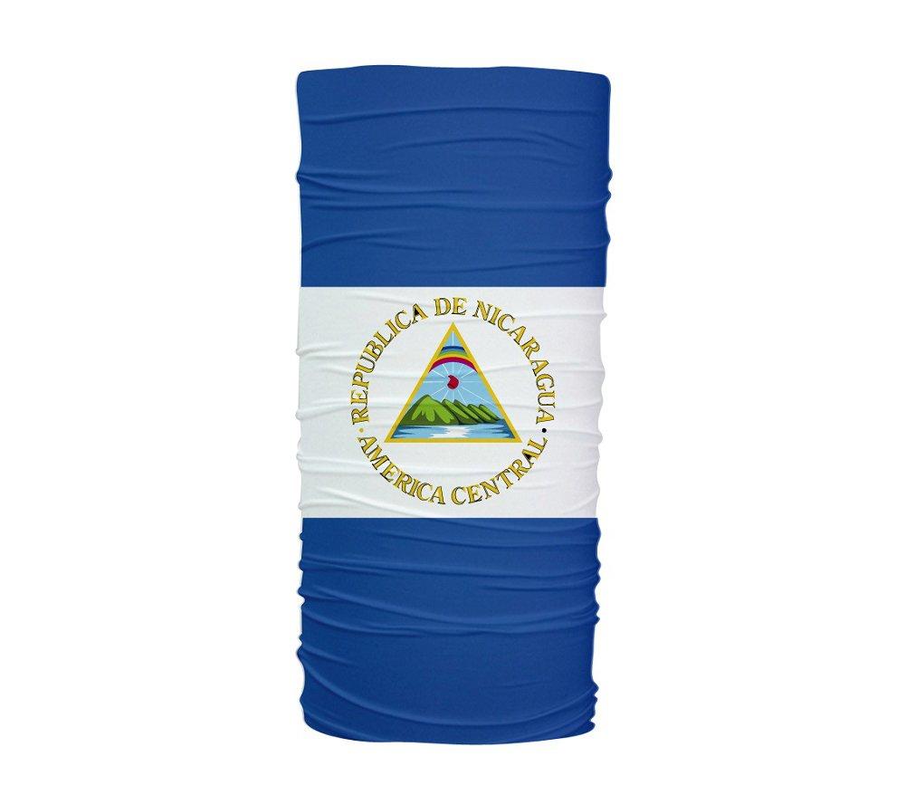 ニカラグアフラグ多機能UV保護ヘッドバンド   B00I8R2FZK