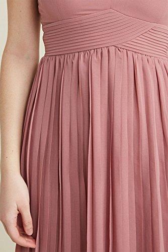 Quzi Robe En Mousseline De Soie Des Robes Formelles Longues Robes De Soirée Des Femmes Avec Blush Qz022 Satin