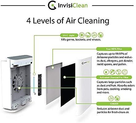 en venta] invisiclean Aura 4 en 1 purificador de aire con True ...