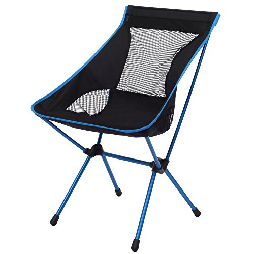 Pontoon Carry Bag (Holiday Outdoor Ultimate Folding Stool Light Weight Portable Foldable Chair for Fishing Camping Picnic (blue))
