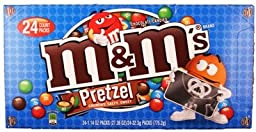 M&M Pretzel Chocolate 24Ct