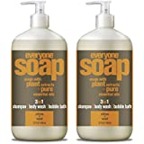 Everyone 3-In-1 Soap, Citrus and Mint, 32 Ounce, 2 Count