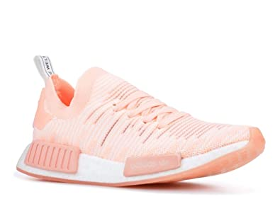 size 40 7b71d 5f043 adidas Originals Women s NMD R1 Pink Clear Orange Clear Orange Cloud White  7 B